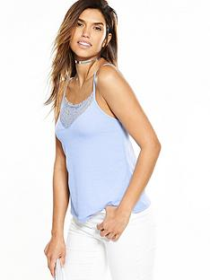 v-by-very-lace-panel-crepe-cami-top