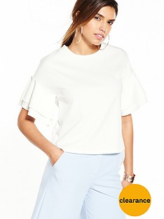 v-by-very-frill-crepe-top
