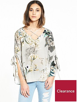 river-island-grey-floral-tie-top
