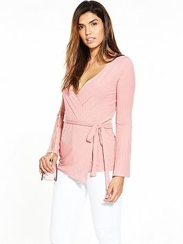 v-by-very-drape-rib-ballet-top-blush
