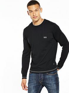 boss-green-tipped-crew-neck-jumper