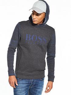 boss-green-logo-hooded-top