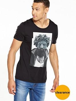 boss-orange-face-print-t-shirt