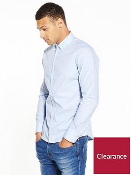 boss-boss-orange-chambray-spot-longsleeve-shirt
