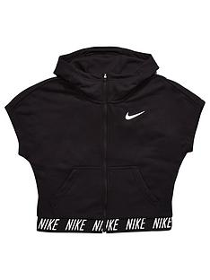 nike-nike-older-girl-short-sleeve-crop-full-zip-dry-hoody
