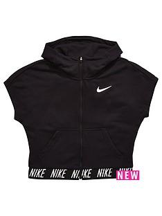 nike-nike-older-girl-short-sleeve-crop-full-zip-dry-hoody