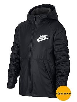nike-older-boys-sportswear-fleece-lined-jacket-black