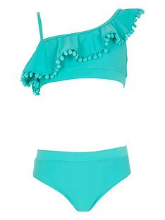river-island-girls-blue-one-shoulder-frill-bikini