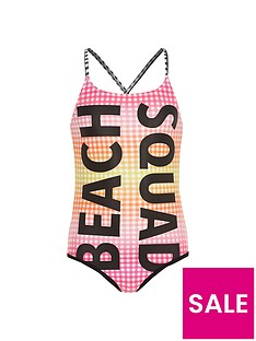 river-island-girls-pink-gingham-039beach-squad039-swimsuit