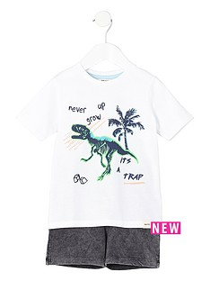 river-island-mini-boys-dinosaur-print-t-shirt-amp-short-set