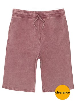 river-island-boys-pink-washed-jersey-shorts