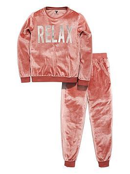 v-by-very-relax-slogan-velour-loungewear-set