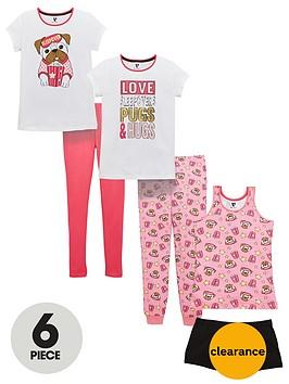 v-by-very-3-pack-pug-sleepover-pyjamas