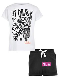 river-island-girls-white-graffiti-print-t-shirt-outfit
