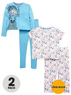v-by-very-2-pack-floral-pyjamas