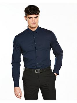 calvin-klein-blue-slim-fit-shirt