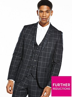 river-island-checked-skinny-fit-suit-jacket