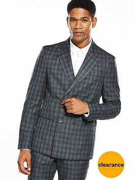 river-island-grey-shadow-slim-suit-jacket