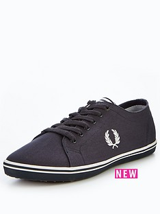 fred-perry-kingston-twill-plimsolls