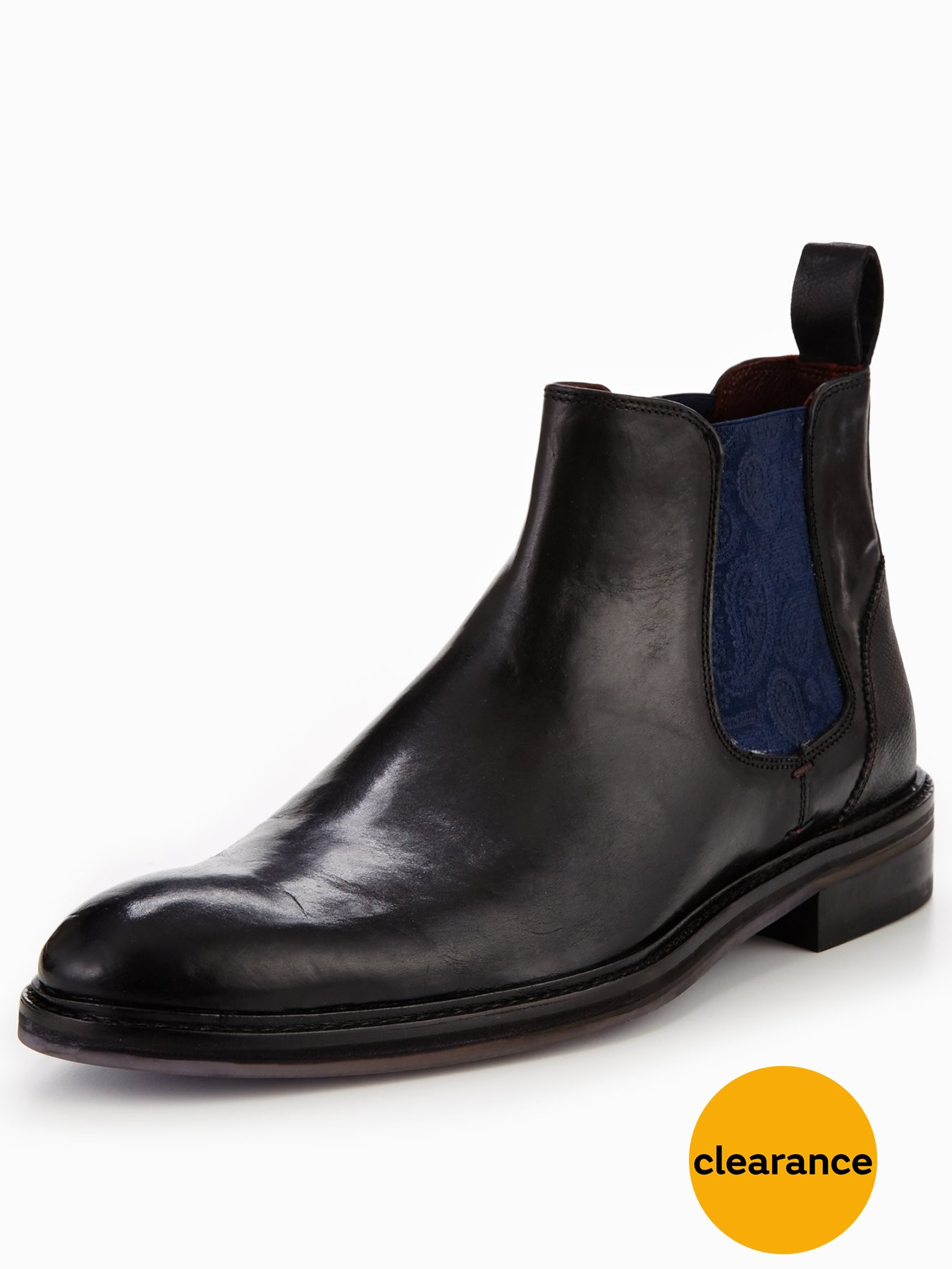 Ted Baker Zilpha Leather Chelsea Boot 1600174924 Men's Shoes Ted Baker Boots
