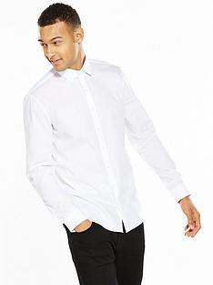 calvin-klein-white-slim-fit-shirt