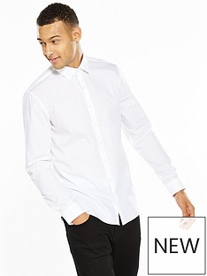 calvin-klein-white-slim-fit-shirt