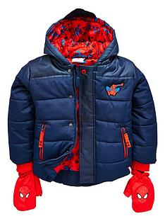 spiderman-boys-padded-coat