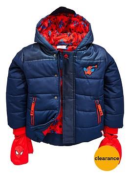 spiderman-boys-padded-coat
