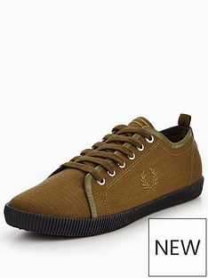 fred-perry-kingston-shower-resistant-canvas-plimsolls