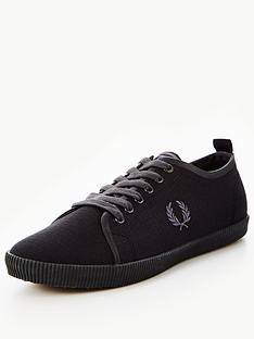 fred-perry-fred-perry-kingston-shower-resistant-canvas-plimsoll