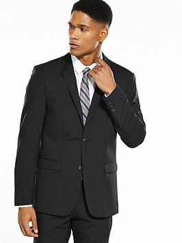 Photo of Calvin klein stretch wool suit jacket