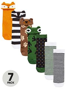 mini-v-by-very-boys-7pk-woodland-animal-socks