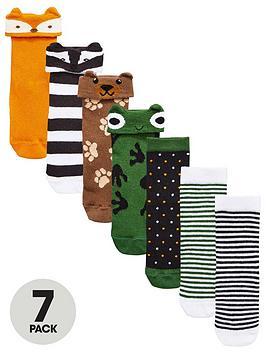 mini-v-by-very-boys-7pk-woodland-animal-socks