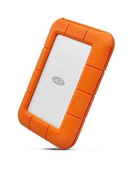 Lacie 2Tb Rugged Thunderbolt Shock &Amp; Drop Resistance Portable External Hard Drive For Pc &Amp; Mac