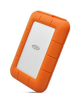 Lacie Lacie 4Tb Rugged Thunderbolt Shock &Amp; Drop Resistance Portable External Hard Drive For Pc &Amp; Mac