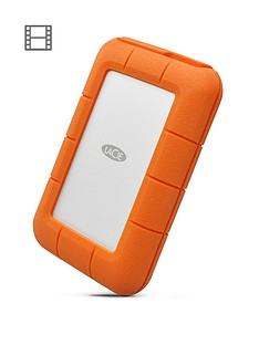 LaCie LaCie 5TB Rugged Thunderbolt shock & drop resistance portable external hard drive for PC & Mac
