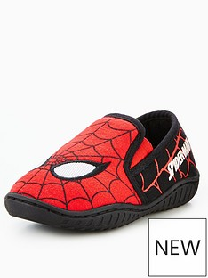 marvel-spiderman-slip-on-slipper