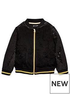 mini-v-by-very-girls-velvet-sequin-bomber-jacket-with-gold-lurex-trim