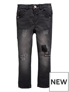mini-v-by-very-boys-skinny-black-patch-jean-with-stretch