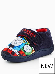 thomas-friends-thomas-badge-strap-slipper