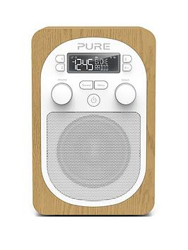 pure-pure-evoke-h2-dabfm-portable-digital-radio-oak
