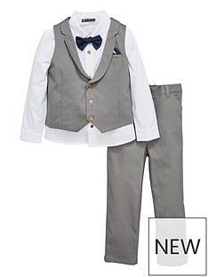 mini-v-by-very-boys-grey-herringbone-3-piece-occasion-suit