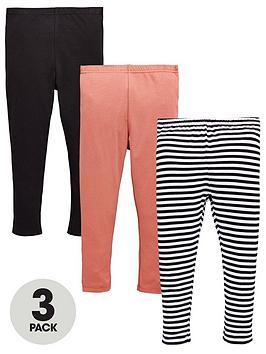 mini-v-by-very-girls-3-pack-stripe-and-plain-leggings