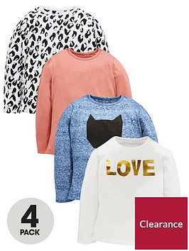 mini-v-by-very-girls-4-pack-cat-and-animal-print-tees