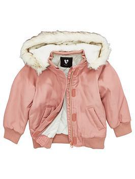 mini-v-by-very-girls-faux-fur-trim-hood-jacket
