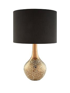 aaliyah-gold-pattern-table-light