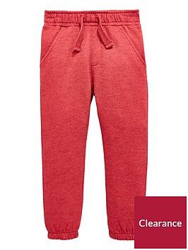 mini-v-by-very-boys-red-marl-jogger