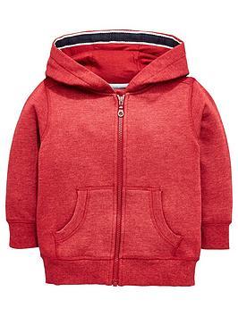 mini-v-by-very-boys-red-marl-jersey-hoody