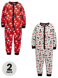mini-v-by-very-boys-2-pack-skull-amp-lightening-sleepsuits