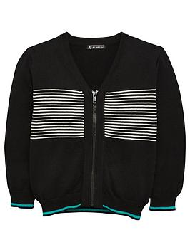 mini-v-by-very-boys-soft-knitted-zip-front-cardigan